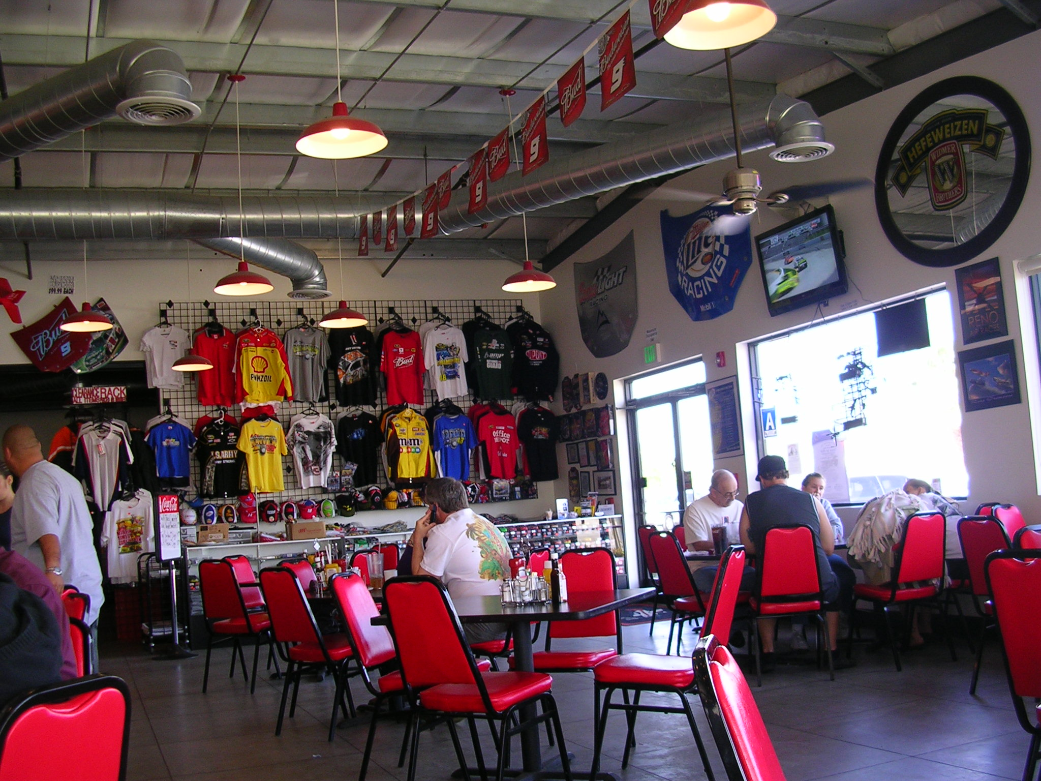 Another view of the restaurant