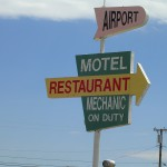 Motel/Restaurant Sign